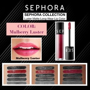 SEPHORA: Luster Matte Lip Color—Mulberry Luster